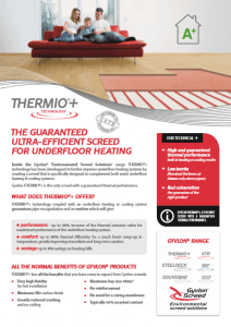 Gyvlon Thermio Screed