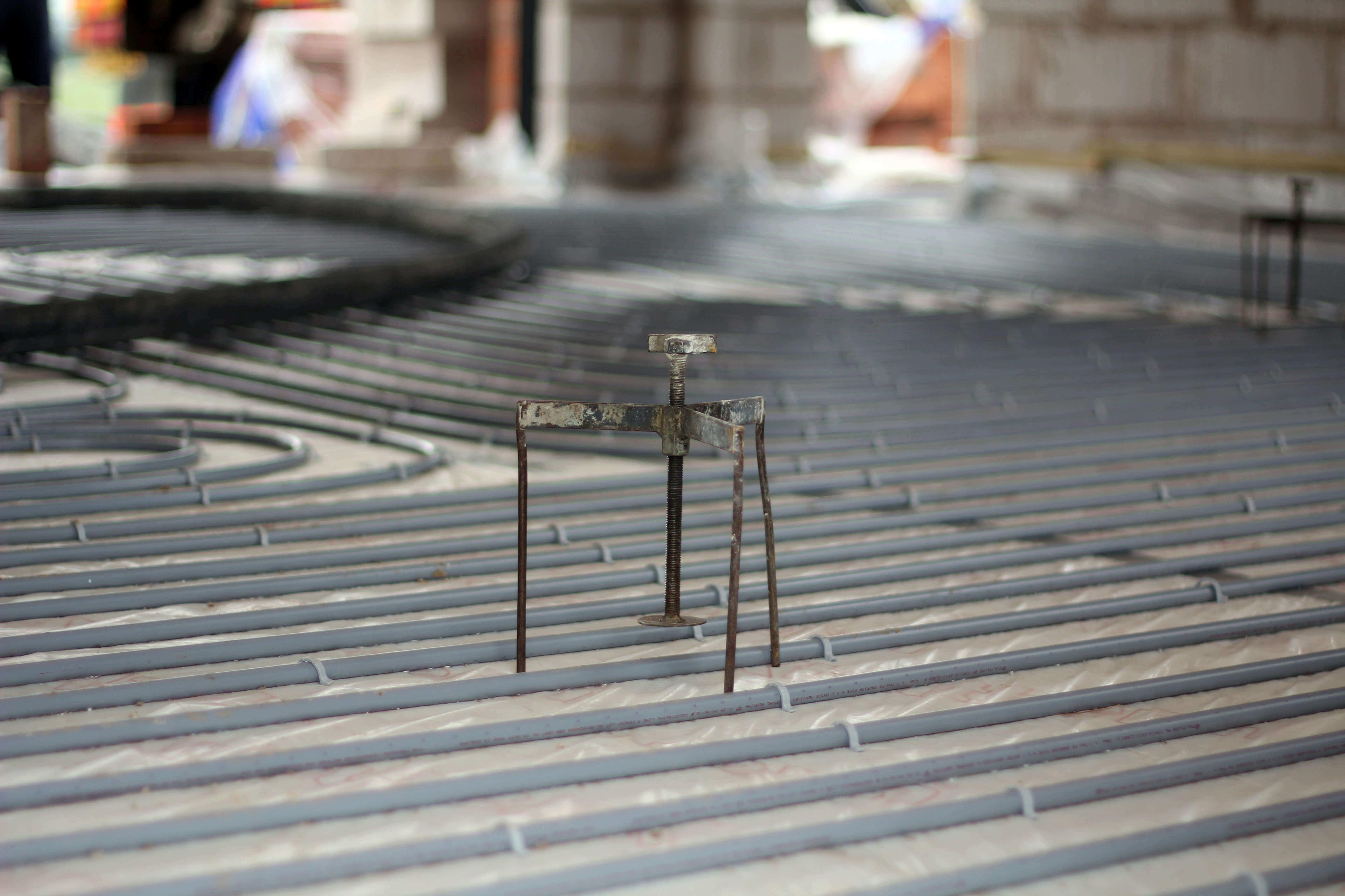Underfloor heating | Liquid screed | Heated Floors | Underfloor heating Installation