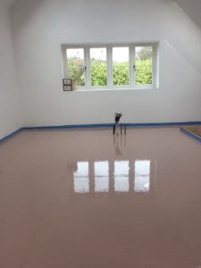 underfloor screed