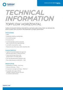 Topflow Horizontal