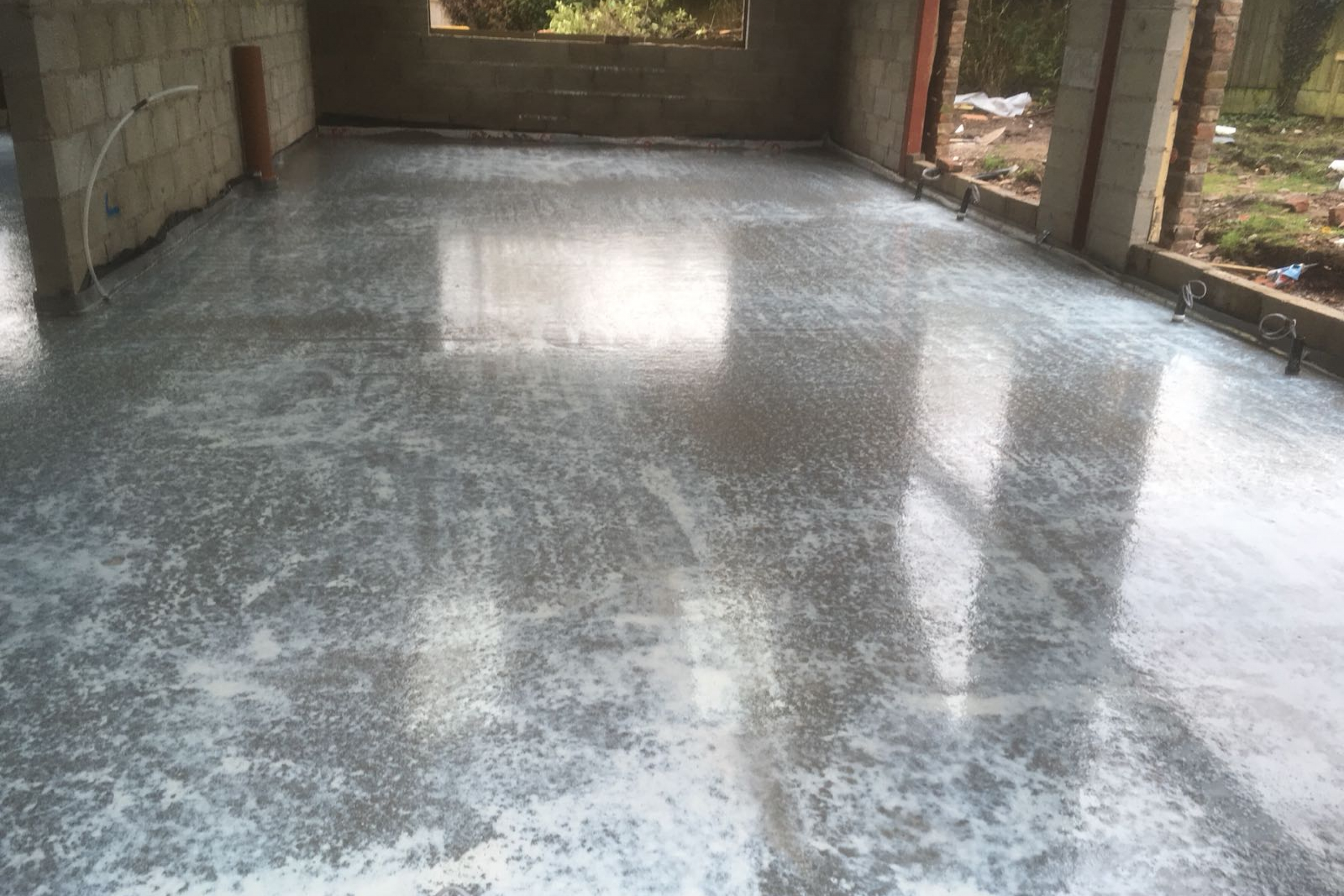 How To Screed A Floor >> Ufh And Cement Screed In Macclesfield Easyflow