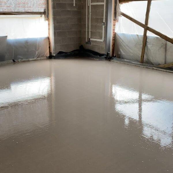Gyvlon | Cemfloor | Flowing Thermio Screeds | Liquid Floor Anhydrite Screeds | Gypsol | Water Underfloor Heating Leicester |
