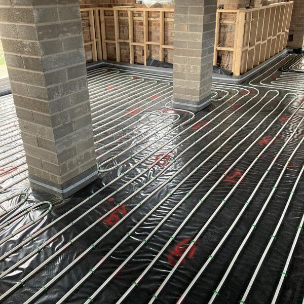 Flowing Thermio Screeds | Liquid Floor Anhydrite Screeds | Gypsol | Gyvlon | Water Underfloor Heating Leicester | Cemfloor |