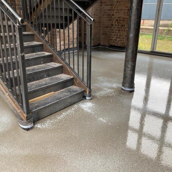 Cemfloor | Flowing Thermio Screeds | Liquid Floor Anhydrite Screeds | Gypsol | Water Underfloor Heating Leicester |