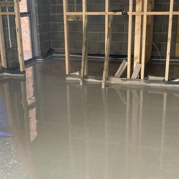 Liquid Screed   Anhydrite Screed   Self-levelling Screeds   Underfloor Heating Midlands   Cemfloor  